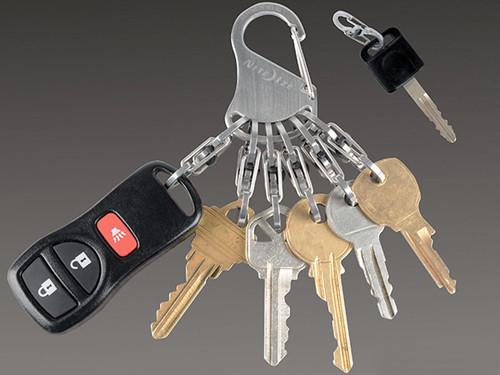 Nite Ize KeyRack Locker Stainless Steel S-Biner Key Holder
