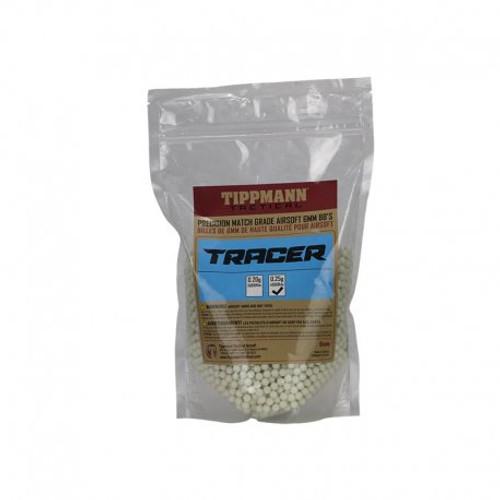 Tippmann Airsoft Tracer BB 0.25g - White
