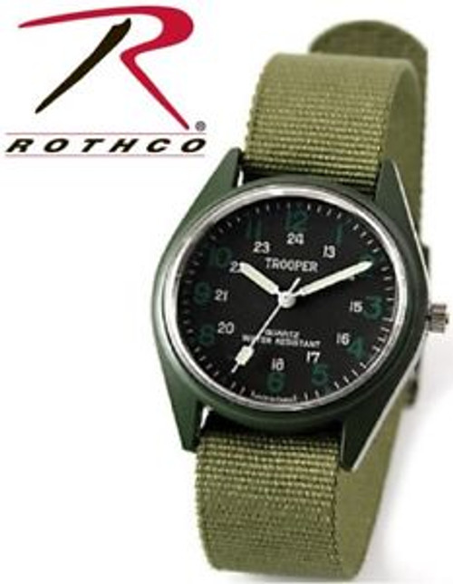 Rothco SWAT Watch - Olive Drab