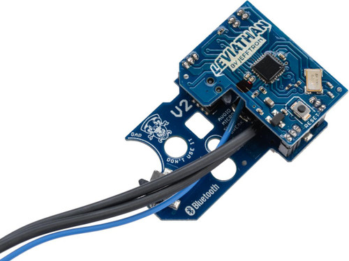 JeffTron Leviathan Airsoft Drop-In Programmable MOSFET Module (Type: V2 - Black Trigger)