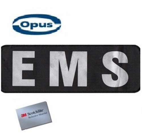 Opus EMS Patch - Black/Silver