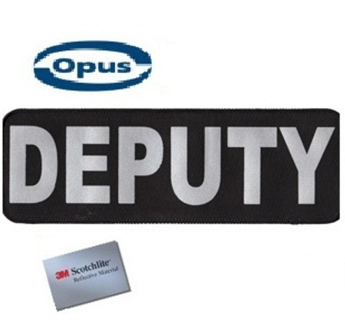 Opus Deputy Patch - Black/Silver