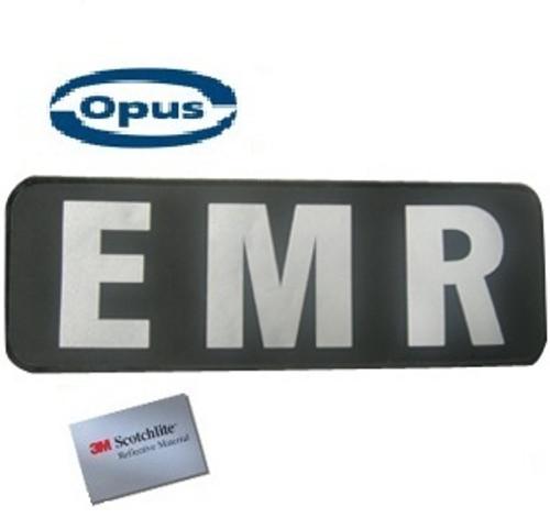 Opus EMR Patch - Black/Silver