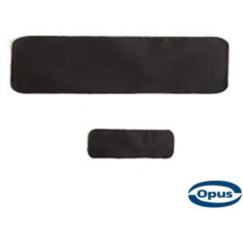 Opus Plain Blank Patch - Black