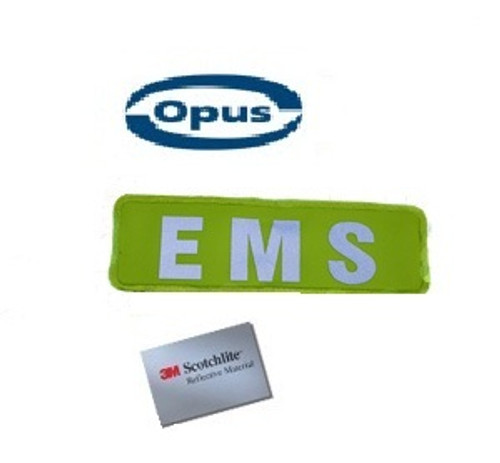 Opus EMS Patch - Yellow/Silver