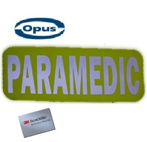 Opus Paramedic Patch - Yellow/Silver