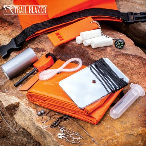 Trailblazer Drybag Survival Kit