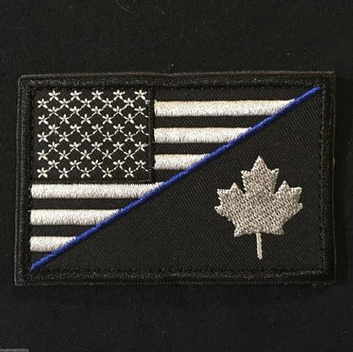 Canada / United States Friendship - Hook and Lop Morale Patch- SWAT