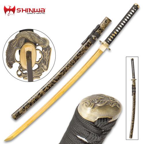 Shinwa Firefly Handmade Katana / Samurai Sword - 1045 Carbon Steel