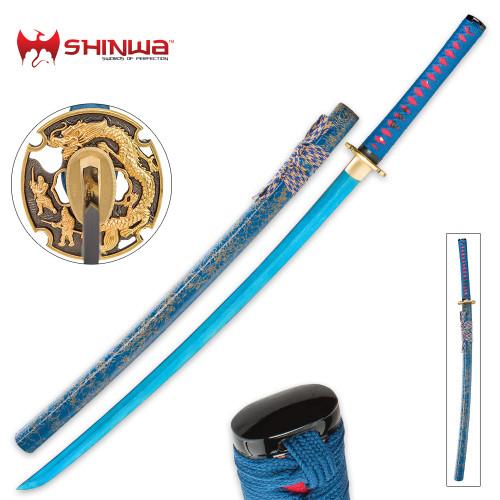 Shinwa Lazuli Handmade Katana / Samurai Sword
