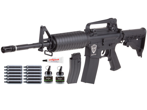 HellBoy .177 CO2 BB Tactical Air Rifle Kit