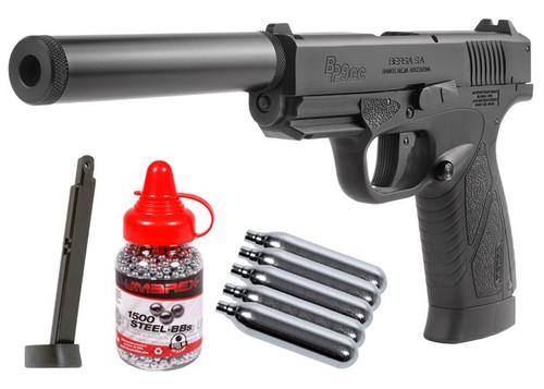 Bersa BP9CC CO2 Blowback BB Pistol Kit - Black
