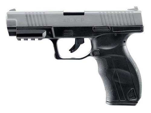 Umarex 40XP CO2 BB Pistol Metal Slide - Black w/Silver Slide