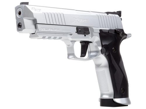 Sig Sauer X-Five ASP CO2 Pellet Pistol - Silver