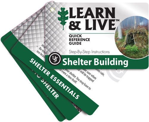 Learn and Live Cards - Shelter Building
