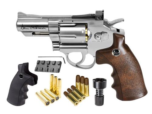 "Dan Wesson CO2 BB Dual Ammo, Dual Grip Revolver Kit - 2.5"""