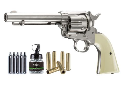 Colt Peacemaker SAA CO2 Revolver Kit - Nickel