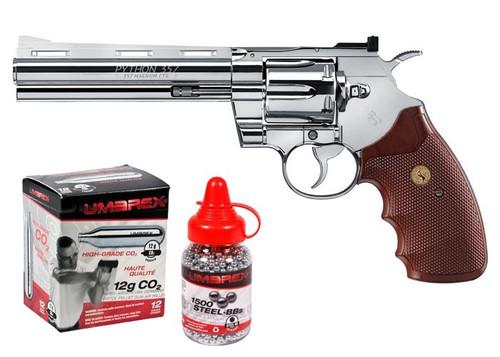 Colt Python CO2 Revolver Kit - Chrome