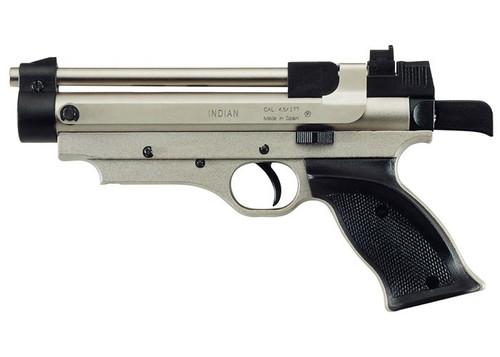 Cometa Indian Air Pistol - Nickel