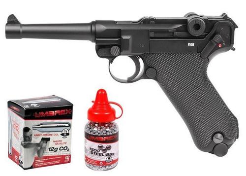 Legends Blowback P08 CO2 Pistol Kit - Full Metal