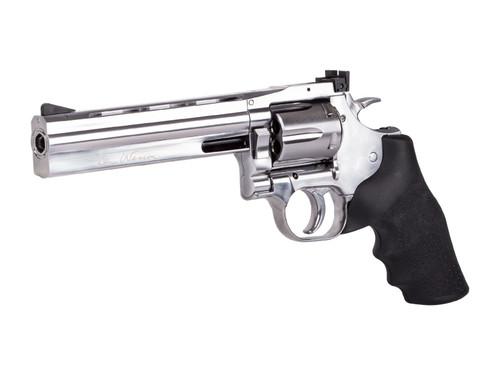 """Dan Wesson 715 6"""" CO2 BB Revolver - Nickel"""