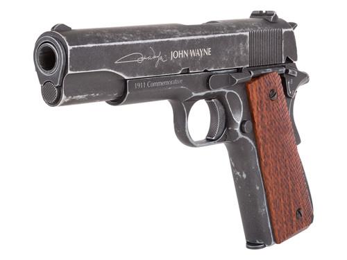 John Wayne 1911 Metal CO2 BB Pistol - Brown Grips