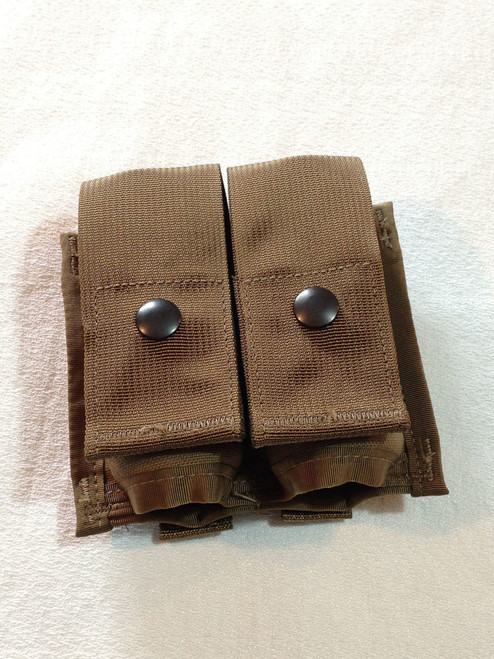 MOLLE 40mm High-Explosive Double  Grenade Pouch Coyote