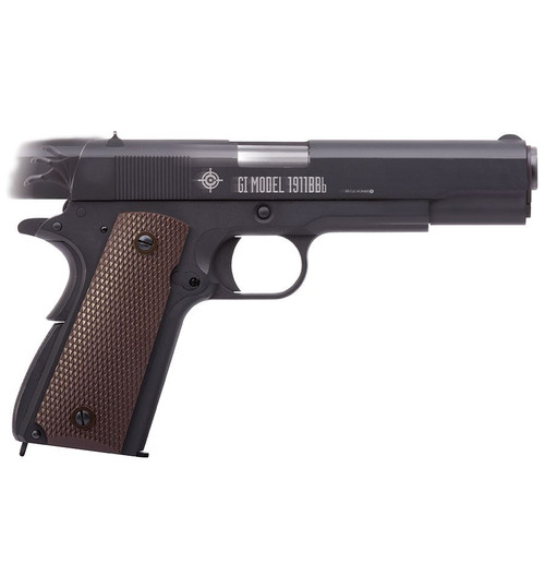 GI Model 1911BB Co2 Powered Blow Back Pistol 4.5mm cal.