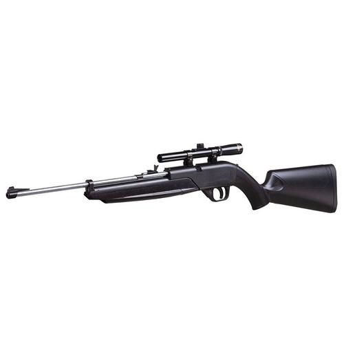 Crosman 764 Pumpmaster® - Black w/Silver Barrel 760 w/4x15 Scope .177