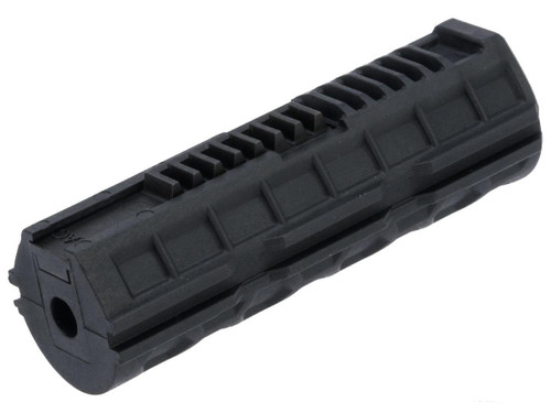 Action Army High Velocity Nylon Fiber Half-Rack Piston w/ Steel Teeth for Airsoft AEG Gearboxes
