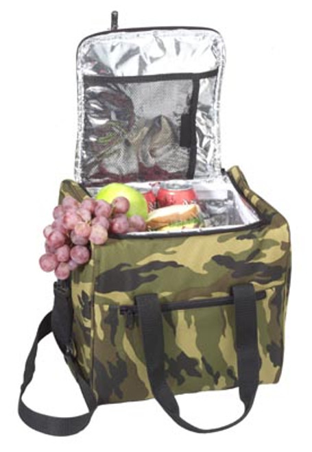 Large Insulated Bag - Woodland Camo
