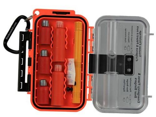 Tru Flare Waterproof Flare/Bear Banger Case w/ bangers, flares & launcher