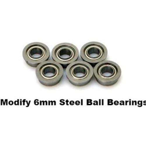 Modify  6mm Steel Ball Bearing Sets - 6pcs