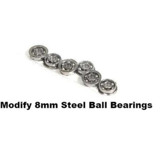Modify  8mm Steel Ball Bearing Sets - 6pcs