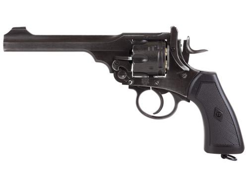 Webley Mark VI Service Pellet Revolver - Battlefield Finish