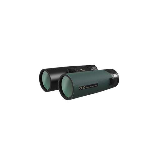 GPO 10x42 PASSION ED Binoculars - Black/Green