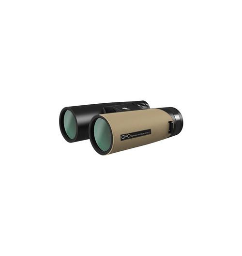 GPO 10x42 PASSION ED Binoculars - Black/Tan