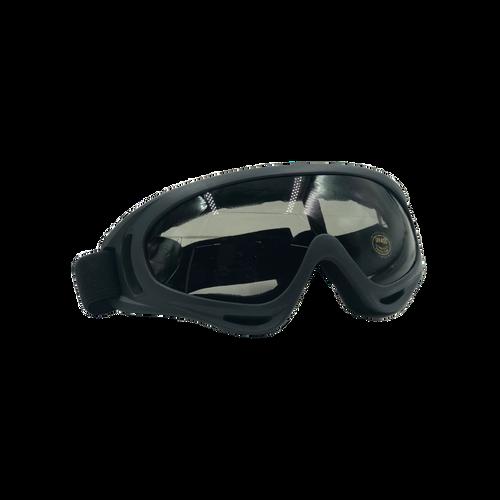 Bravo Airsoft Tactical Goggles V2 Black Frame /Black Lens