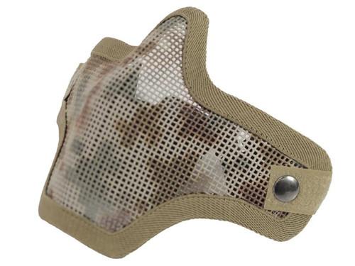 Bravo Tac Gear: Strike Steel Half Face Mask