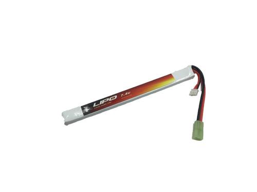Echo1 Lipo #8: 7.4V 1100mAh 25C Stick Lipo