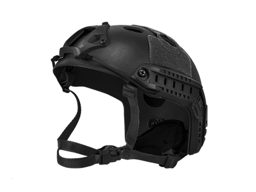 Bravo Airsoft PJ Style Black Helmet Version 3