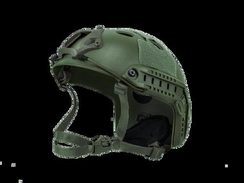 Bravo Airsoft PJ Style OD Helmet Version 3