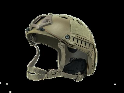 Bravo Airsoft PJ Style Tan Helmet Version 3