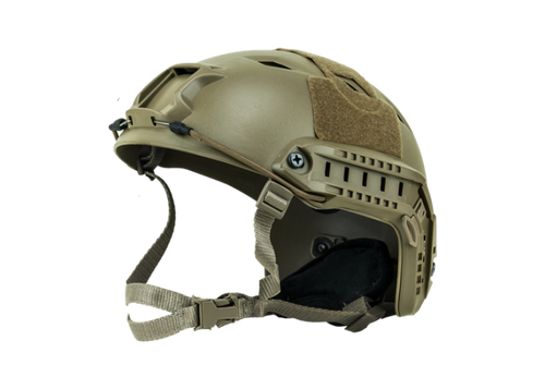 Bravo Airsoft MH Style Tan Helmet Version 3