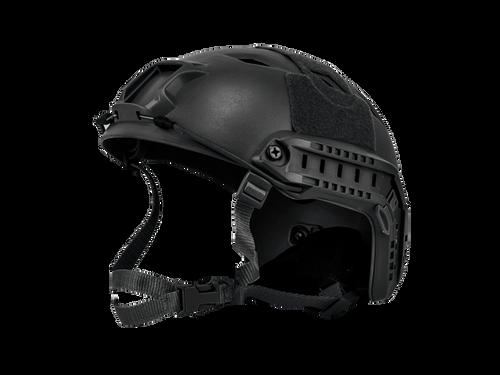 Bravo Airsoft BJ Style Black Helmet Version 3
