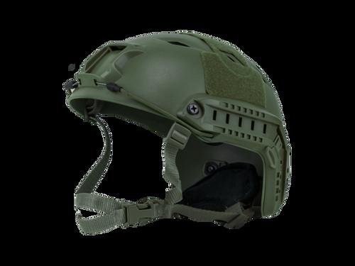 Bravo Airsoft BJ Style OD Helmet Version 3