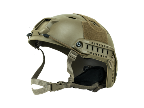 Bravo Airsoft BJ Style Tan Helmet Version 3