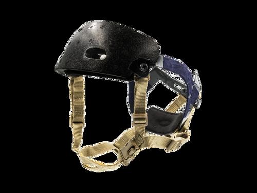 Bravo Airsoft Quick Adjustment Helmet Strap Kit in Tan