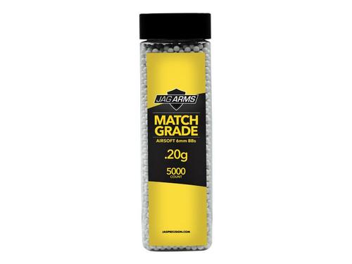 JAG Arms Match Grade .20 gram 5000rd White BB