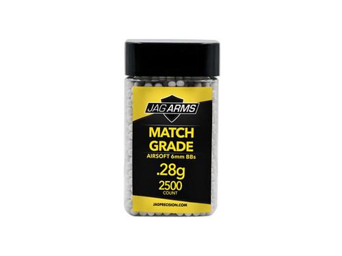 JAG Arms Match Grade .28 gram 2500rd White BB